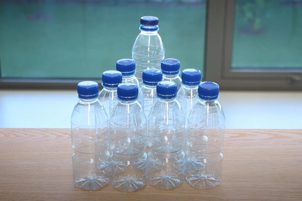 Pinto Brasil promove<br>a redução do uso do plástico<br>na empresa