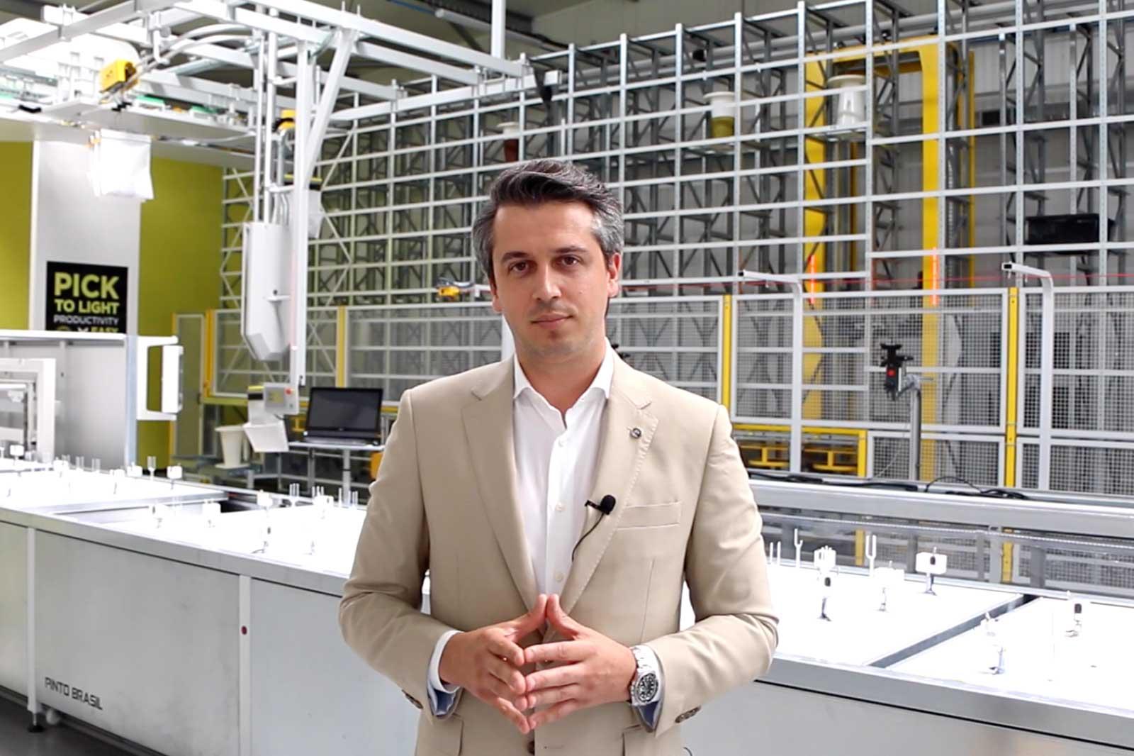 CEO da Pinto Brasil <br>representa setor de<br> equipamentos da AEMinho